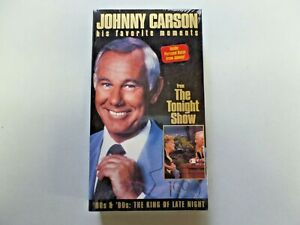 Johnny Carson His Favorite Moments from The Tonight Show VHS '80s & '90s  NEW