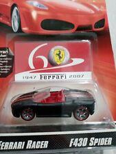 Hot Wheels Ferrari racer 2007 F430 Spider