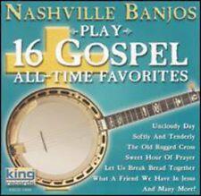 Nashville Banjos - Play 16 Gospel All Time Favorites [New CD]