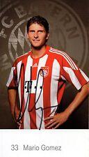 Autogramm - Mario Gomez (Bayern München) - 2010/2011