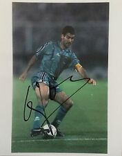 Pep Guardiola Barca legend signed 10x8 photo Image E UACC Registered Dealer COA
