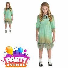 Girls Creepy Girl Halloween Exorcist Fancy Dress Costume