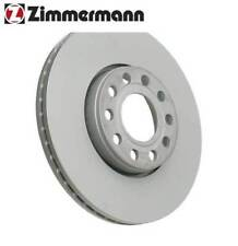 VW Passat Front Right or Left Brake Disc Zimmermann Coat Z 4B0615301B NEW