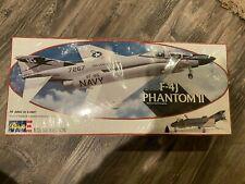 REVELL F-4J PHANTOM II McDONNELL-DOUGLAS AIRPLANE 1/32 SCALE PLASTIC MODEL KIT