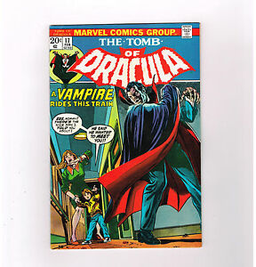 TOMB OF DRACULA #17 Grade 7.0 Bronze Age horror featuring Blade!