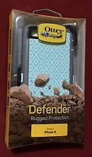 Authentic OtterBox Defender Moroccan Sky Printed Case +Holster for iPhone 6 / 6s