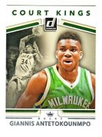 2017-18 Donruss COURT KINGS #3 GIANNIS ANTETOKOUNMPO Milwaukee Bucks