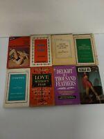 Lot Of 8 Vintage Sleaze GGA Paperback Books Pulp Erotica Rare OOP (101)