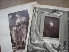 BOUGUEREAU cliché photoglyptie de Galerie Contemporaine 1880