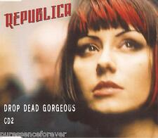 REPUBLICA - Drop Dead Gorgeous (UK 4 Tk CD Single Pt 2)