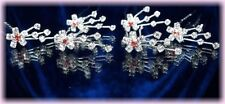 6 Crochets épingles cheveux pics bijou mariage cristal