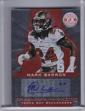 2012 TOTALLY CERTIFIED #149 MARK BARRON AUTO. ROOKIE RC BUCCANEERS 256/290