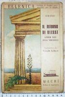 Collezione Ellenica - Omero Il ritorno di Ulisse - 1941