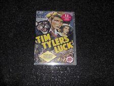 TIM TYLER'S LUCK CLIFFHANGER SERIAL 12 CHAPTERS 2 DVDS
