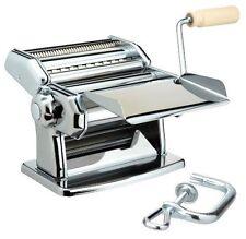 Pasta Noodle Spaghetti Maker Machine Imperia chromed plated steel Cucina Pro