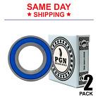 6006-2RS C3 EMQ Premium Rubber Sealed Ball Bearing, 30x55x13, 6006rs (2 QTY)