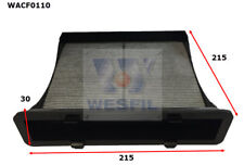 WESFIL CABIN FILTER FOR Subaru Forester 2.5L 2012 06/12-on WACF0110