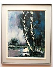 OIL PAINTING BY QUEBEC CANADIAN LISTED ARTIST CLAUDE GIANOLLA 16 x 20