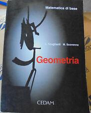 GEOMETRIA - MATEMATICA DI BASE - L.SCAGLIANTI e M.SCOVENNA - CEDAM