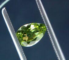 Pear Cut 9 x 6 mm Natural Peridot Loose Gemstone