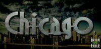 CHICAGO SCRIPT -- Windy City Metal Word Lettering Wall Art Sign Home House Decor
