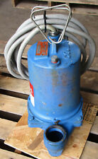 Goulds Ws0732b 34hp Submersible Sewage Pump 1725rpm 230v 60hz 3ph Used Take Out