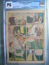 Captain America Comics #1 CGC PG Timely Comics 1941 Origin & 1st app Bucky