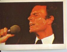 Julio Iglesias 1980 Pop Festival Music Trading Card