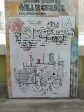 AALL & Create stamps Large A4 Size New