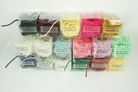 3MM Faux Pearl Plastic Craft BEADS on a String - 20 Feet in a BOX - CHOOSE COLOR