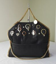 Stella McCartney Falabella Baby Bella Embellished Faux Suede Tote