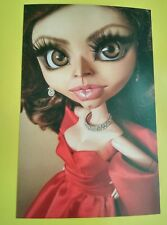 (B) Postcard Doll Dolls Image Sophia Loren Picture Celebrity Actress