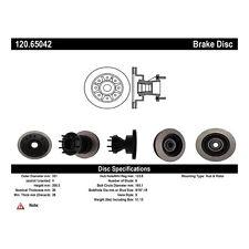 Centric Parts 120.65042 Front Premium Brake Rotor