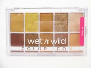 Wet n Wild Color Icon 10 Pan Eyeshadow Palette Vegan, Call Me Sunshine, 0.42 oz.