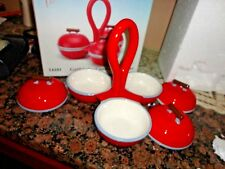 Kitchen Creations Grill Salsa Porcelain Condiment Holder 14101