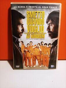 DVD SMETTO QUANDO VOGLIO AD HONOREM OTTIME CONDIZIONI