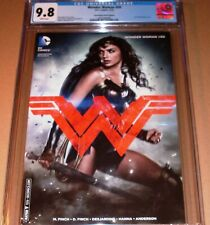 Wonder Woman #50 Photo Variant CGC 9.8 DC 2016 WonderCon Convention Gal Gadot