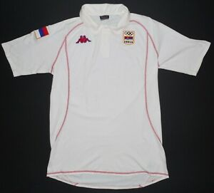 Serbia Olympic Team Volleyball Kappa Shirt Size XL