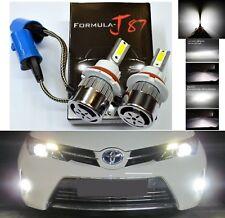 LED Kit C6 72W 9007 HB5 5000K White Two Bulbs Head Light Fan Bright Upgrade OE