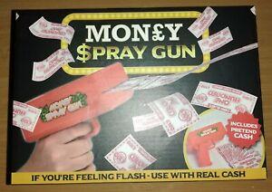 Money Spray Gun Enjoy Flashing Cash with this Toy Kids Fun Game Activity Gifts