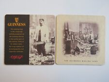 Beer Coaster: Guinness Brewing Co ~ The Cooperage Shop ~ St John's Gate, Ireland