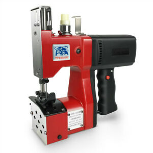 220V Portable Electric Bag Stitching Closer Seal Sewing Sealing Machine Handheld