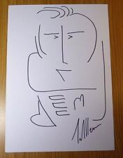 TIM ALLEN TOY STORY HOME IMPROVEMENT ORIGINAL HAND DRAWN SIGNED SELF PORTRAIT