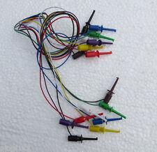 8 pcs Mini Grabber IC Test Lead Jumper 8 color