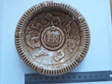 Genuine brown Vintage Wade 1953 Coronation dish in excellent condition