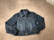 Denim Jacket Girls Blue 7-8 Years VGC