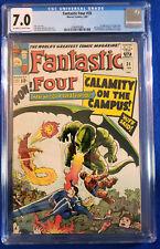 Fantastic Four #35 CGC 7.0 OW-W Pages FEB 1965 1ST APP DRAGON MAN MARVEL