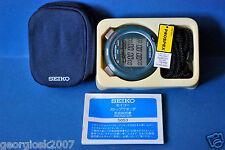 Vintage Seiko LCD SVAE 007 Prospex. Professionnel CHR/minuterie. V.V. RARE. NOS *