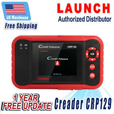LAUNCH CRP129 OBD2 Car Diagnostic Tool Transmission Airbag Electronic Park Brake