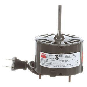 Dayton 71637642M Hvac Motor,1/50 Hp,1550 Rpm,115V,3.3